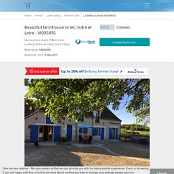 Beautiful farmhouse to let, Indre et Loire - VI005495