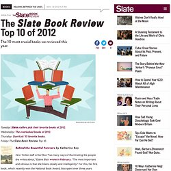 Best books of 2012: Gone Girl, Beautiful Forevers, Bring Up the Bodies, Wild