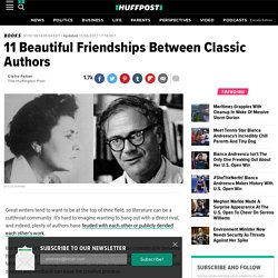 11 Beautiful Friendships Between Classic Authors