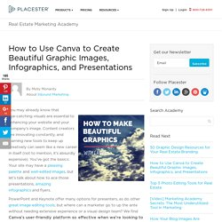 How to Use Canva to Create Beautiful Graphic Images & Infographics