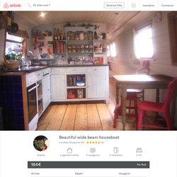 Beautiful wide beam houseboat - Bateaux à louer à Londres