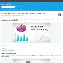 Create Beautiful 3D Graphs and Charts in Illustrator