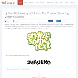 13 Beautiful Inkscape Tutorials for Creating Stunning Vector Graphics