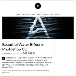 Beautiful Water Effect in Photoshop CC