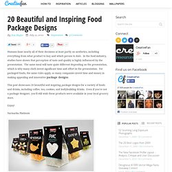 20 Beautiful and Inspiring Food Package Designs