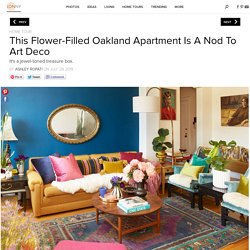 Take A Peek Inside This Bold And Beautiful Oakland Apartment - Home Tour