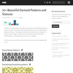 70+ Beautiful Damask Patterns