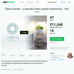 Ödena Garden - a beautiful indoor garden powered by... fish! by Kelsey —Kickstarter