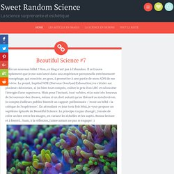 Beautiful Science #7
