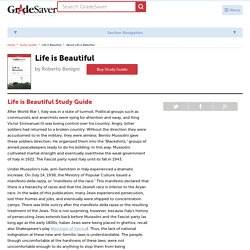 Life is Beautiful Study Guide