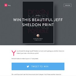 Win this beautiful Jeff Sheldon print
