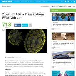 7 Beautiful Data Visualizations (With Videos)