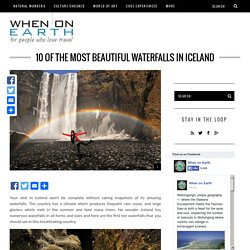 10 of the Most Beautiful Waterfalls in Iceland