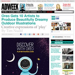 Oreo Gets 10 Artists to Produce Beautifully Dreamy Outdoor Illustrations