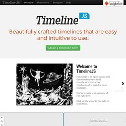 Timeline JS - Beautifully crafted timelines that are easy, and intuitive to use.