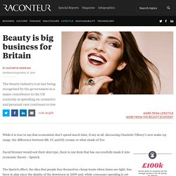 Beauty is big business for Britain