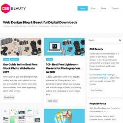 CSS Beauty | CSS Design, News, Jobs, Community, Web Standards