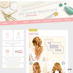 GUEST POST - thebeautydepartment.com - StumbleUpon