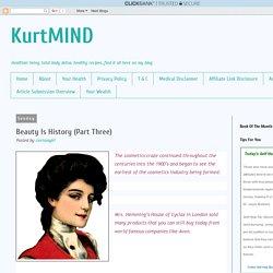 KurtMIND: Beauty Is History (Part Three)