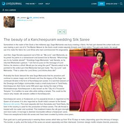 The beauty of a Kancheepuram wedding Silk Saree: silk_sarees