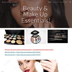 Beauty & Make Up Tips!