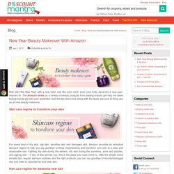New Year Beauty Makeover With Amazon - DiscountMantra