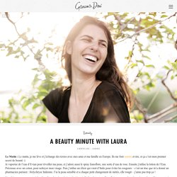 A Beauty Minute with Laura