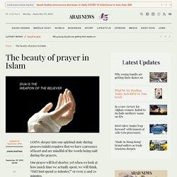 The beauty of prayer in Islam