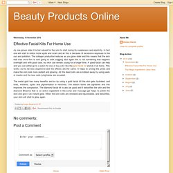 Beauty Products Online: Effective Facial Kits For Home Use