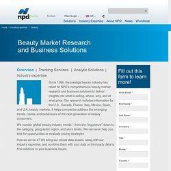 Beauty Market Research in UK - npdgroup.co.uk