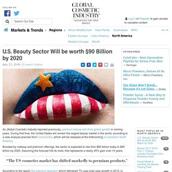 U.S. Beauty Sector Will be worth $90 Billion by 2020