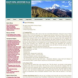 Beauty Nepal Trekking
