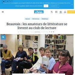 Beauvais : les amateurs de littérature se livrent au club de lecture - Le Parisien