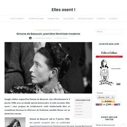 Simone de Beauvoir, première féministe moderne - Elles osent !