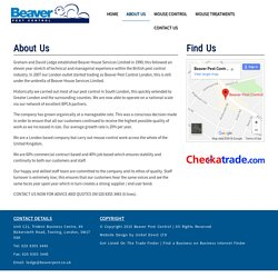 Beaver Pest Control - Get Rid Of Mice London
