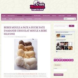 BEBES MOULE A PATE A SUCRE PATE D'AMANDE CHOCOLAT MOULE A BEBE SILICONE