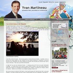 I love bécane-bateau au lac Champlain - www.yvanmartineau.com
