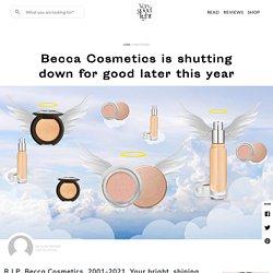 Shutting Down Becca Cosmetics