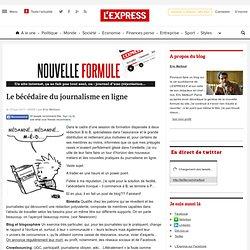 Le bécédaire du journalisme en ligne | Nouvelle formule