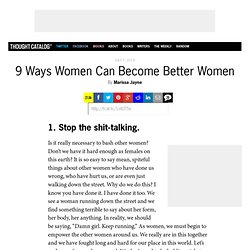 9 Ways Women Can Become Better Women
