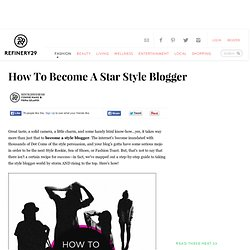 How To Become A Blogger- Guide Become a Fashion Blogger