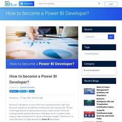 How to become a Power BI Developer?
