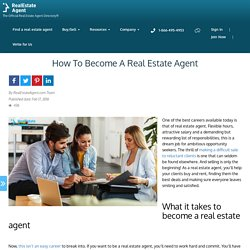 How To Become Real Estate Agent - Best Tactics To Follow
