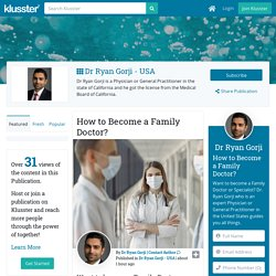 How to Become a Family Doctor?
