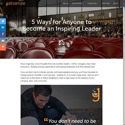 Become an Inspiring Leader
