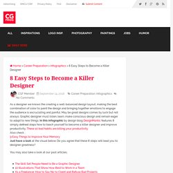 8 Easy Steps to Become a Killer Designer - CGfrog