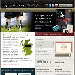 Become a Lord, Laird or Lady | Buy a British title | Purchase a Lord Title, Laird Title or Lady Title