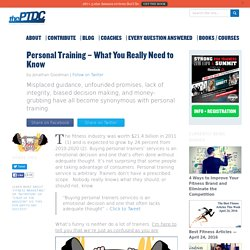 What Do I Need to Become a Personal Trainer?
