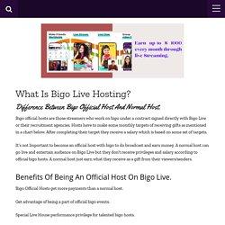 Become Bigo Live Host, Process, Salary & Target