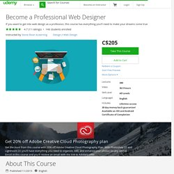 Become a Professional Web Designer